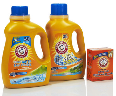 "April Showers Bring May Flowers"" by the makers of Arm & Hammer"